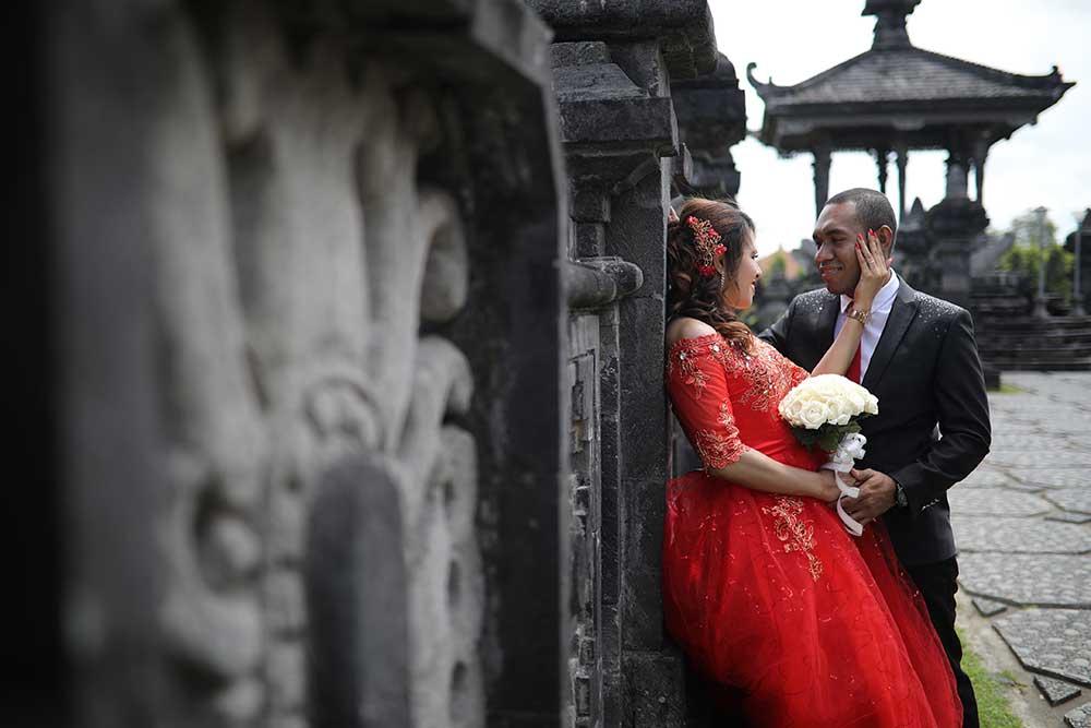 Paket Prewedding Di Garuda Wisnu Kencana ( GWK )